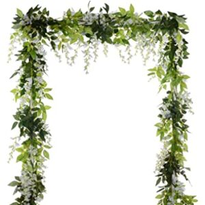 Silk Wedding Flowers/garland for decor and arches