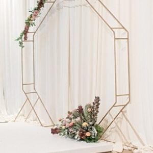 Brass Octagon Arch