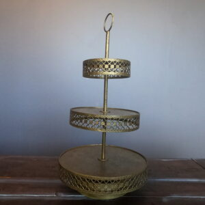Tiered Stand – gold