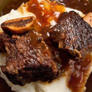 Beef Short Ribs with One Basic Entree