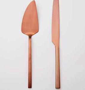 Cake Set – copper/rose gold