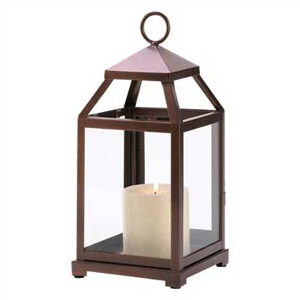 Bronze Carriage Lantern – small