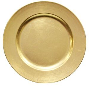 Acrylic Charger – Brushed Gold