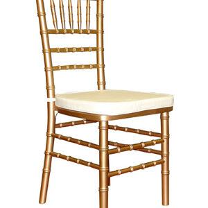 Chiavari Chair – Gold Resin