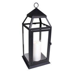 Black Carriage Lantern – medium