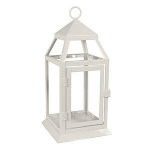 White Carriage Lantern – small