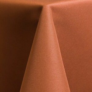 Solid Polyester – Burnt Orange