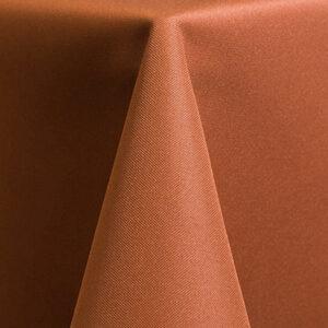 Solid Polyester – Burnt Orange