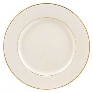 Ivory and Gold Dinnerware